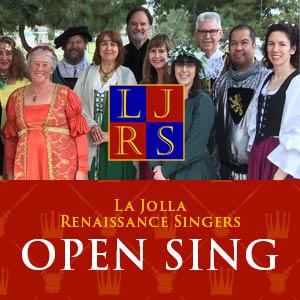 consorcio coral de san diego la jolla cantantes renacentistas abren cantar
